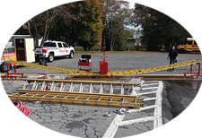 Ground Ladder Testing